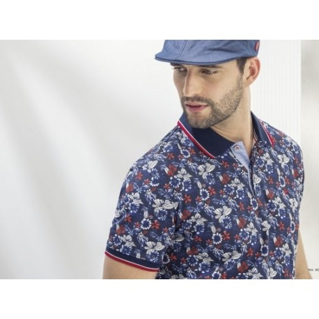 Polo estampado Gendive