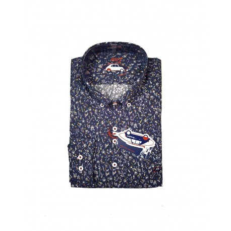 Camisa flores absolutamente The Surf Car